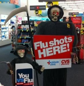 Flu shot of death.