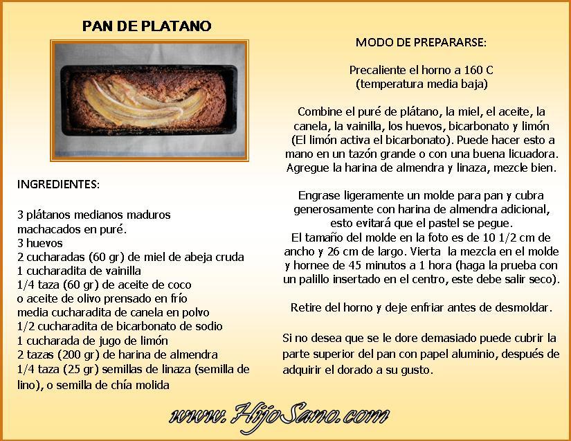 Pan de Platano